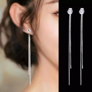 Rated 5⭐️ beautiful faux diamond dangle earrings